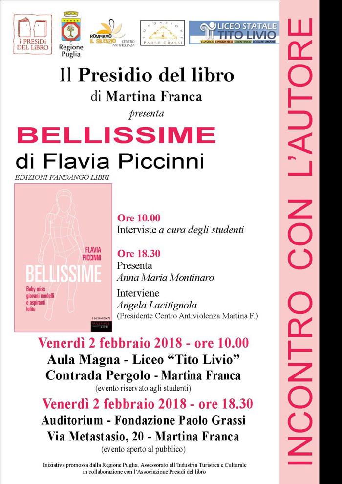 Calendario Eventi Martina Franca.Bellissime Incontri Con Flavia Piccinni Presidi Del Libro